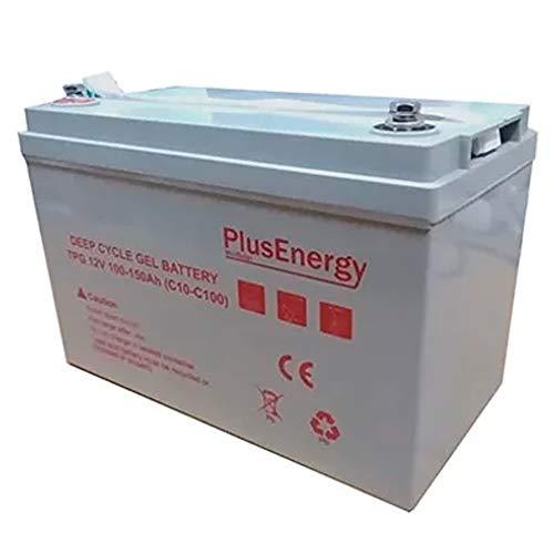 PlusEnergy accu gel TPG150 12V 100AH-150AH c10-c100