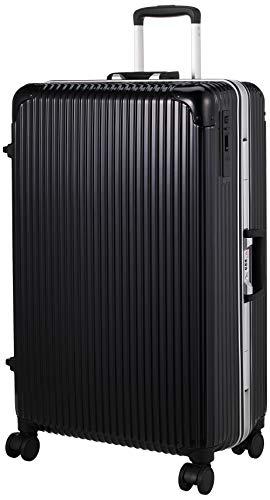 [ヒロディービーシー] フレームエッジ、スーツケース フレームエッジ 保証付 90L 5.7kg ブラック