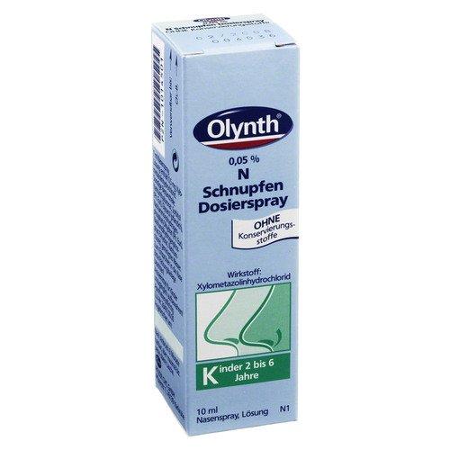 Olynth 0,05% N Nasenspray für Kinder oh. Konserv.