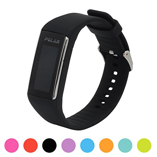 Für Polar Fitnesstracker A360 Smart Watch Ersatz Uhrenarmband - iFeeker Soft Silikon Gummi Uhrenarmband Armband Tasche für Polar Fitnesstracker A360 Smart Watch (Nur Band, Kein Tracker)