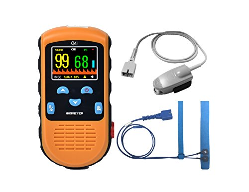 CMI Handheld Pulse Oximeter - with Adult and Infant (Under 20 lbs) Sensor...