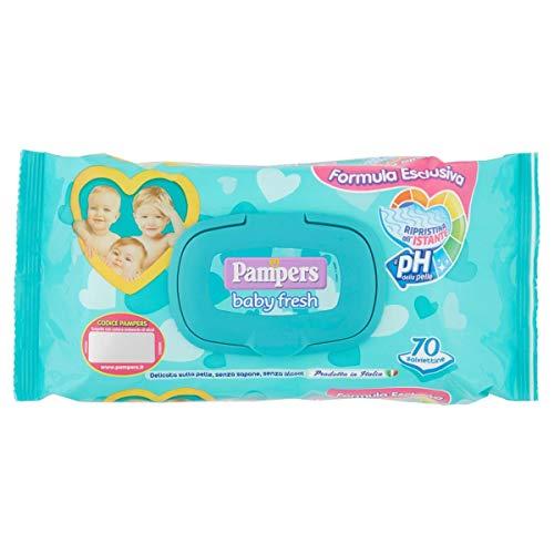 Pampers Salviette Baby Fresh, 70pz