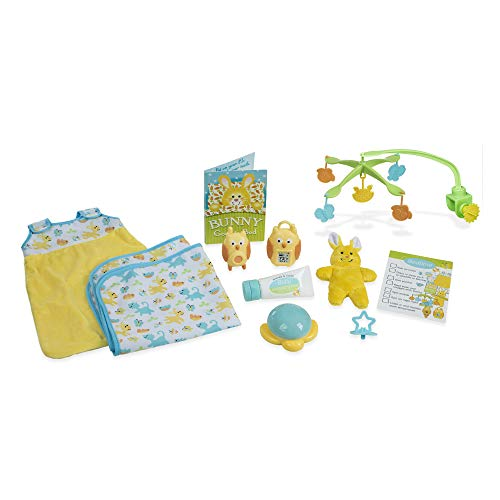 Melissa & Doug Mine to Love Bedtime Play Set for Dolls with Night-Light, Baby Monitors, Mobile, More (11 pcs, Great Gift for Girls and Boys - Best for 3, 4, 5, 6, and 7 Year Olds)