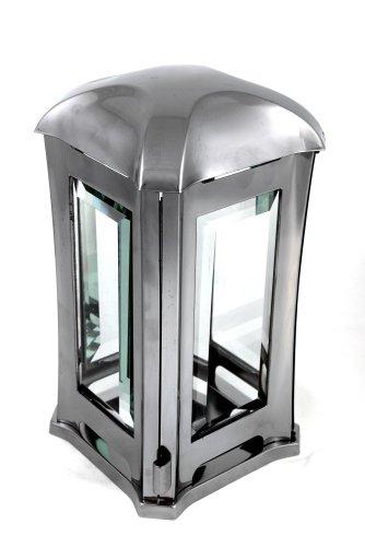 ek-center Grablampe aus Edelstahl matt