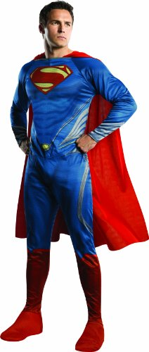 Rubie's Costume Man Of Steel Adult Complete Superman, Blue/Red, X-Large