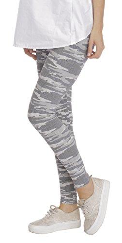 BeLady BeLady Damen Leggings Knöchellang aus Baumwolle Abnehmen Hose mit Hoher Bund Blickdichte Leggins Viele Muster S M L XL 2XL 3XL 4XL 5XL 6XL (Evelyn, 4XL)