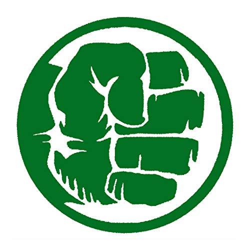 CCI The Hulk Hand Fist Avengers Marvel Comics Decal Vinyl Sticker|Cars Trucks Vans Walls Laptop|Green|5.5 x 5.5 in|CCI1994