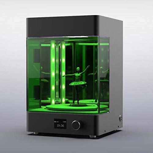 MEICHEN Desktop-UV-Licht-3D-Drucker geführt Rotations härtende Box Kammer Neue UV Rapid prototyping Nachhärten Harzhärtung Box