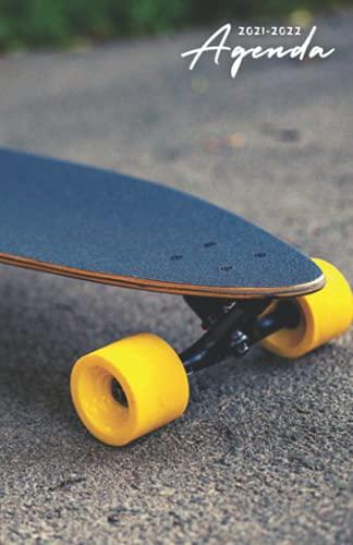 Agenda Scolaire 2021 2022 Skate: Planificateur 1 Jour Par Page pour fille et garcon | Agenda journalier | Organiseur Scolaire | Fournitures scolaires ... | Couverture original Skateboard - skater