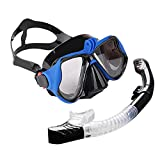 WDBK HD Scuba M ask with 180 Degree Panoramic View and Anti Fog...