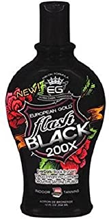 European Gold Flash Black 200x Ever Indoor Tanning Lotion, 12 fl oz by Creative Labs