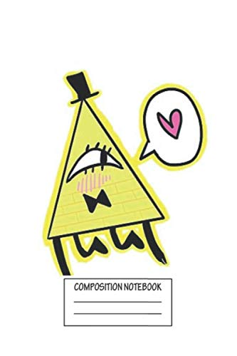 Notebook: Kawaii Bill Cipher Wide Ruled , Journal for Writing, Size 6' x 9', 110 Pages