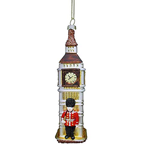 Kurt Adler 6' Glass Big Ben Ornament