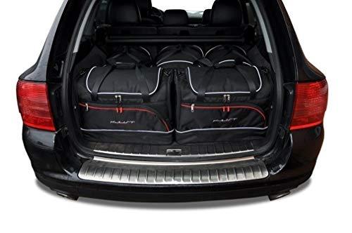 KJUST Dedizierte Taschen 5 STK Set kompatibel mit Porsche Cayenne I 2002 - 2010