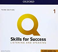 Q: Skills for Success: Level 1: Listening and Speaking Audio CDs