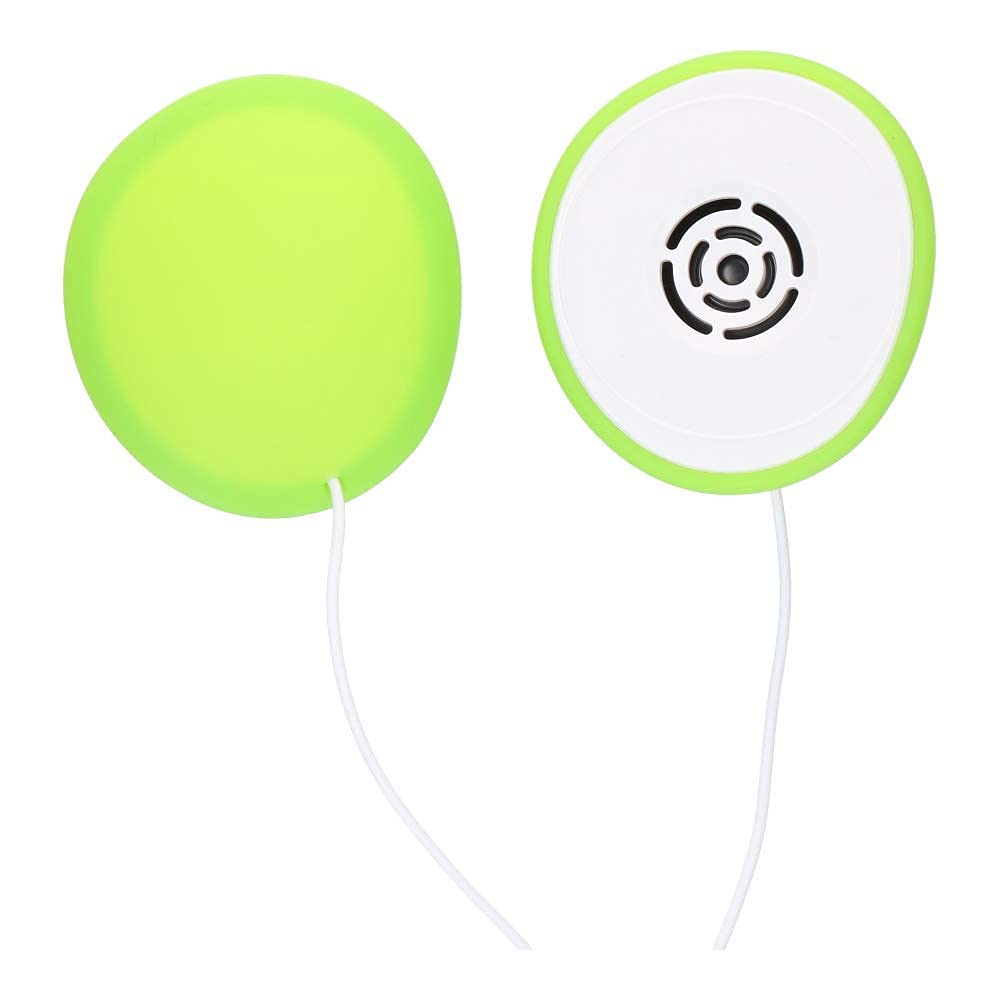 Pixie Tunes Premium Award-Winning Baby Bump Speaker. #1 Pregnancy Headphones to Play Music, Sound and Talk to your Baby in the Womb. Crystal Clear Surround Sound Quality. Ideal Baby Shower Gift, Green