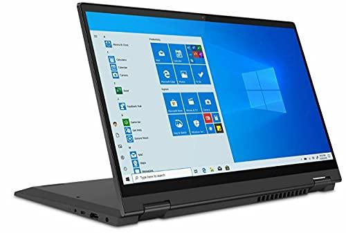 Lenovo Flex 5 14' FHD 2in1 Touch Screen Laptop, 8-core AMD Ryzen 7 4700U(i7-10710U) Upto 4.1 GHz, USB-C, Fingerprint, Backlit KB, Webcam, HDMI, Win 10 Home, 32GB MSD Card (8GB RAM | 512GB PCIe SSD)