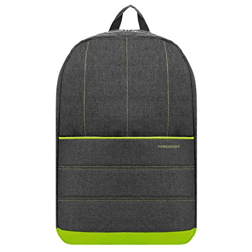 Green Slim Lightweight Travel Laptop Backpack for Dell XPS Latitude...