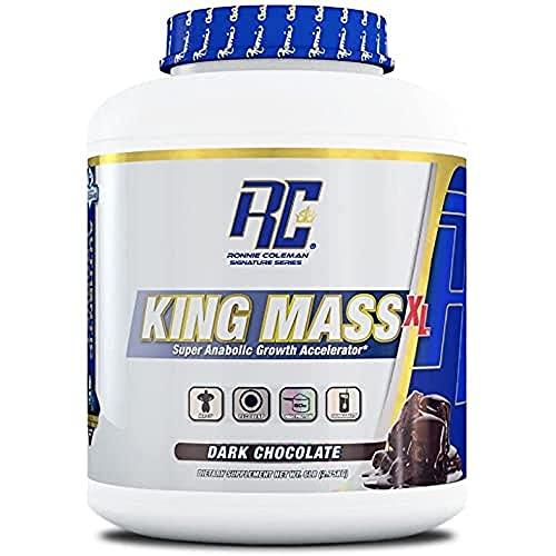RCSS King Mass Gainer Kolhenhydrate Muskelaufbau Protein EiweiߴProteinshake Eiweißshake Bodybuilding 2700g (Chocolate - Schokolade)