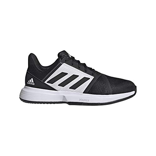 adidas CourtJam Bounce M Clay, Zapatillas de Tenis Hombre, NEGBÁS/FTWBLA/NEGBÁS, 42 EU