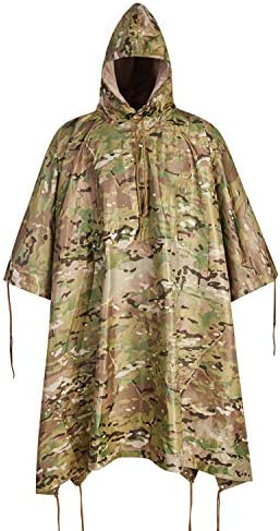 Military Army Tactical Poncho W P20000mm Military Grade Waterproof Material product image