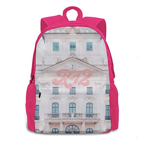 Kids Backpack Baby_K-12 School Bag Casual Rucksack Waterproof Schoolbag Pink