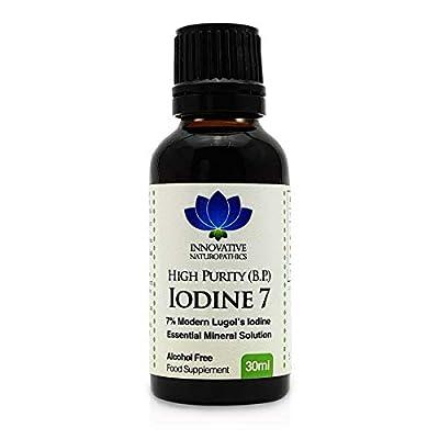 Iodine - 7% Lugols Iodine Solution - 30ml