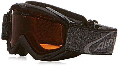 ALPINA Erwachsene Skibrille Spice QH, Black, One Size