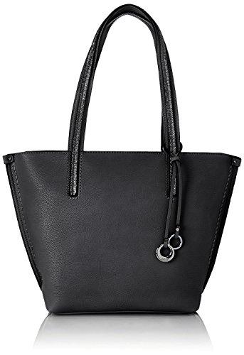 Gabor Shopper Damen Cosima, (Schwarz), 43x29x13 cm, Gabor Tasche Damen