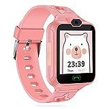 AGPTEK Smartwatch Niños con 8GB SD Tarjeta, Reloj Inteligente para Niños con Hacer Llamada, SOS, Cámara, Música, Juegos y...
