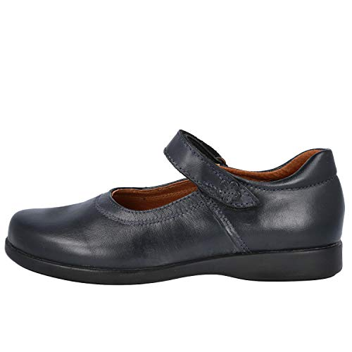 L&R SHOES 10452 Zapatos Colegiales NIÑA - Cuero para: NIÑA Color: Azul...