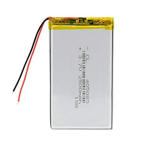 Batería De Litio del PolíMero De 405085 3.7v 2500mah, Recargable para La CáMara MóVil De Dvr del Coche 4050852500mAh4pcs