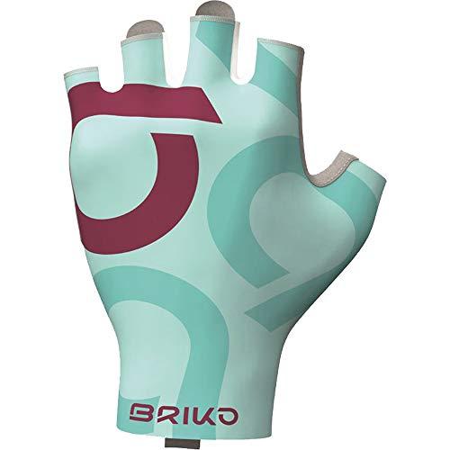 Briko Ultralight Glove Guanti Ciclismo, Unisex Adulto, Azzurro, M