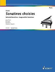 Partitions classique SCHOTT FRERES FERTE A. - SONATINES CLASSIQUES VOL.2 Piano
