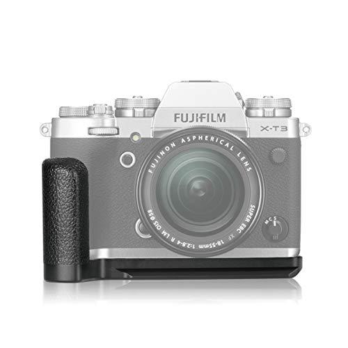 MEIKE MK-XT3G Quick Release L Supporto per impugnatura a piastra metallica Base metallica compatibile con Fujifilm X-T3