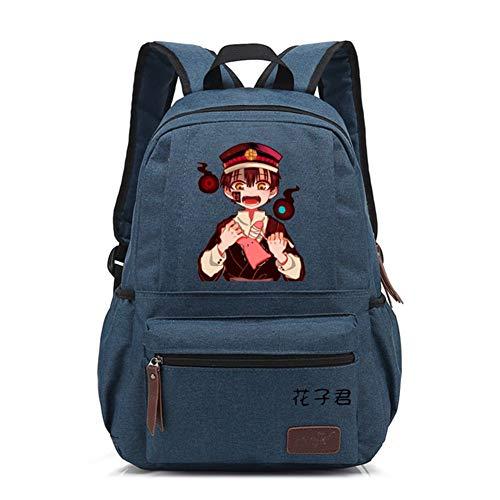 Csqw Anime Cosplay Backpack Sac d'école Rucksack Étudiant Sac à Dos Tableau Hanako-Kun garçon lié au Sol