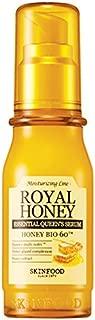 SKIN FOOD Royal Honey Essential Queen's Serum 50ml (1.69 fl.oz) - Propolis & Royal Jelly Skin Nourishing Facial Serum, Anti-Aging, Healthy Glow Skin, Strengthen Skin Barrier