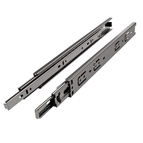 JUNKER 1 Paar (2 Stück) Vollauszüge KV1-25-H35-L400-NF Höhe 35 / Länge 400 mm/mit Tragkraft 25 Kg