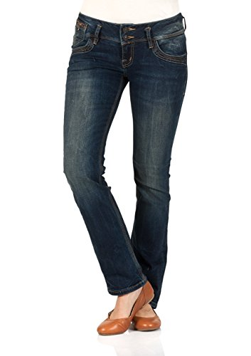 LTB Damen Jeans Jonquil Slim Straight - Blau - Oil Blue Wash, Größe:W 29 L 30, Farbe:Oil Blue Wash (4361)