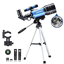 Aomekie Telescope for Kids, Adults, and Astronomy Beginners