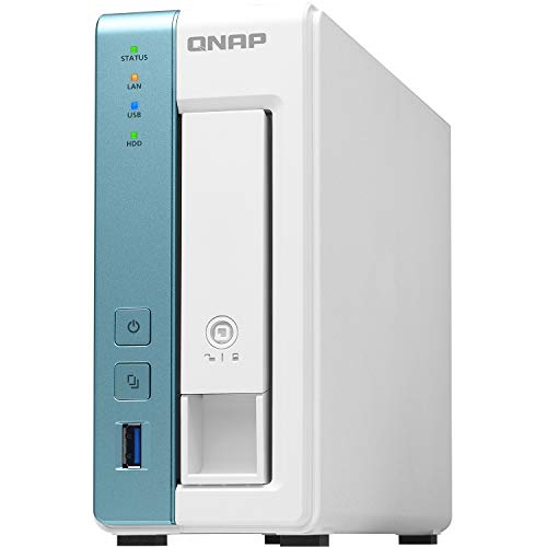 QNAP TS-131K 1 Bay Home NAS mit einem 1GbE Port