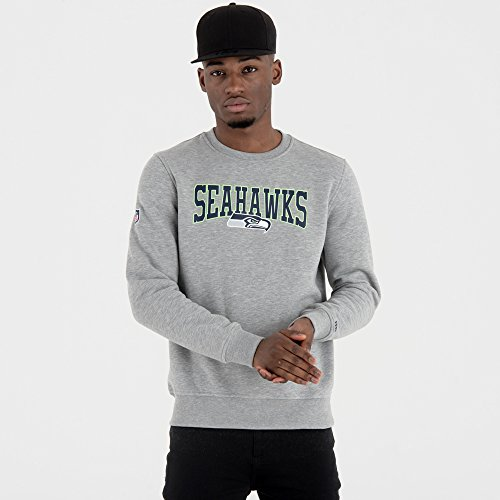New Era Herren Pullover NFL Team Seattle Seahawks grau 2XL