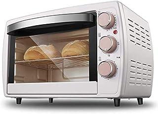 Horno eléctrico GJJSZ,horno de sobremesa,pequeño horno tostador de pan multifuncional de 20 litros,que incluye una bandeja y un soporte para hornear de esmalte de malla a la parrilla,1200 W de potenci