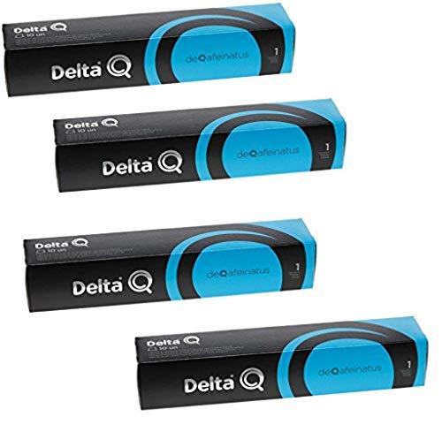Pack Xl 40 Café descafeinado - Cápsulas Delta Q - INTENSIDAD 1-4 X10 capsulas,DEQAFEINATUS