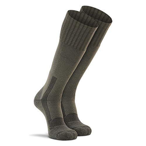 Fox River Military Wick Dry Maximum Mid Calf Boot Sock (XLarge/Green)