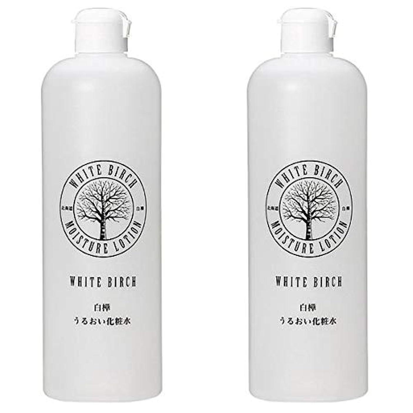 クレタ機密はちみつ北海道アンソロポロジー 白樺うるおい化粧水 500mL 【2個セット】