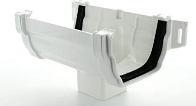Marley Gutter offset bend 87.5/º RBE3 65mm Square Downpipe White