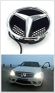 Kimoo MB-LED02 Illuminated LED Light Front Grille Star Emblem Badge For Mercedes Benz W204 Pre-LCI X204 GLK W245 B C207 E 2006-2013 C-Class