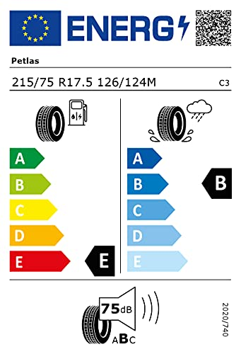 Petlas RZ 300-215/75 R17.5 126/124M - Transport Reifen