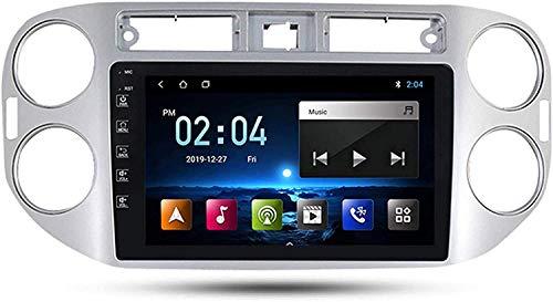 WHL.HH por Volkswagen Tiguan 1 NF 2010-2018 Androide Coche Radio Doble Duto Estéreo Radio GPS Navegación 9 Pulgada Pantalla táctil,1+16G